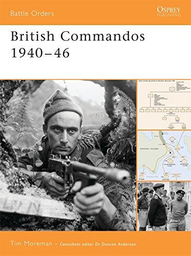 9781841769868: British Commandos 1940–46 (Battle Orders)