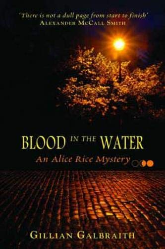 9781841831121: Blood in the Water (Alice Rice Mystery) (Alice Rice 1) (Alice Rice Mystery series)