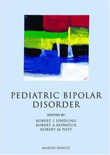 9781841840543: Pediatric Bipolar Disorder: A Handbook for Clinicians