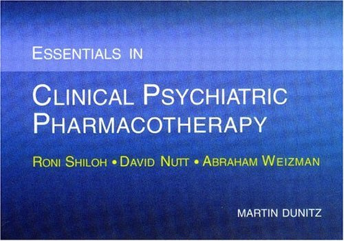 9781841840925: Essentials in Clinical Psychiatric Pharmacotherapy