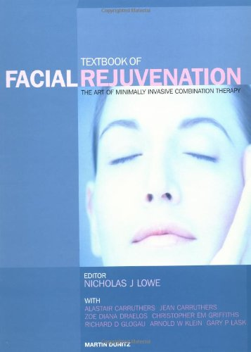 9781841840956: Textbook of Facial Rejuvenation: The Art of Minimally Invasive Combination Therapy