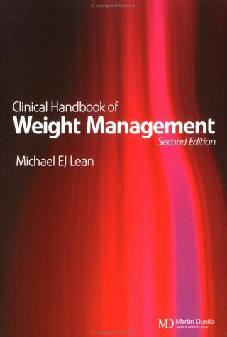 9781841841045: Clinical Handbook of Weight Management, Second Edition