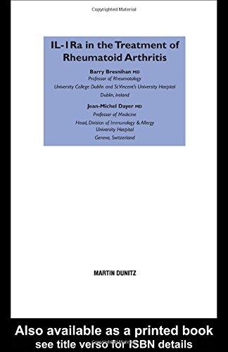 IL-1ra in the Treatment of Rheumatoid Arthritis: Barry Bresnihan, Jean-Michel