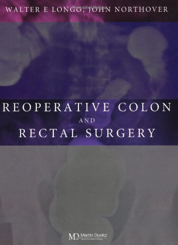 9781841841830: Reoperative Colon and Rectal Surgery
