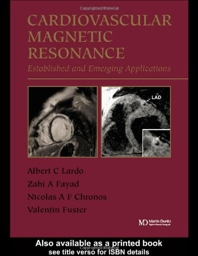 9781841842028: Cardiovascular Magnetic Resonance: Established and Emerging Applications