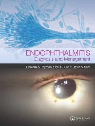 9781841842783: Endophthalmitis: Diagnosis and Treatment