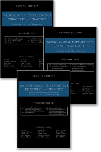 Neurological Therapeutics: Principles and Practice, Three-Volume Set,: Noseworthy, John