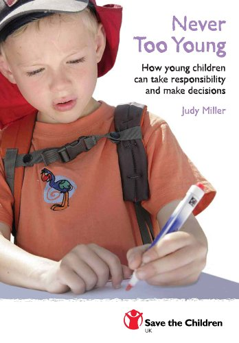 9781841870755: Never Too Young: How Young People Can Take Responsibility and Make Decisions