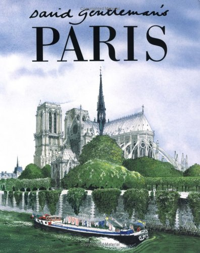 9781841880525: David Gentleman's Paris
