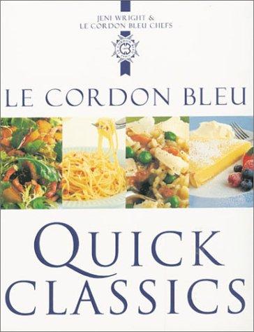 9781841881140: Le Cordon Bleu: Quick Classics