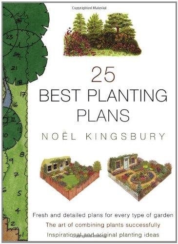 9781841881294: 25 Best Planting Plans