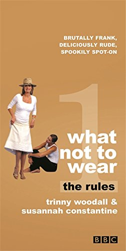 9781841882499: What Not to Wear: The Rules