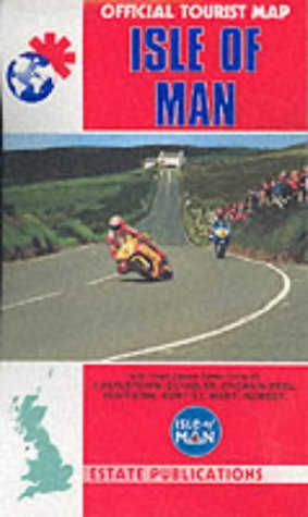 9781841920702: Isle of Man (Official Tourist Map)