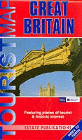 9781841920726: Great Britain Leisure Map (Tourist Map)