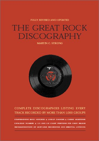 The Great Rock Discography: Strong, Martin C., Strong, M. C.