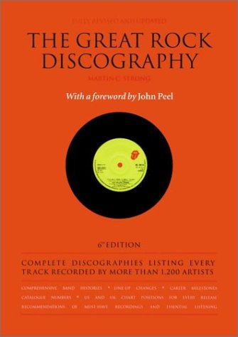 9781841953120: The Great Rock Discography Vol. 6 (Essential Rock Discography)