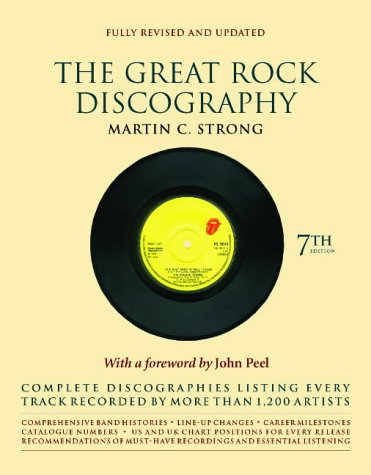 9781841955513: Great Rock Discography 7th Ed