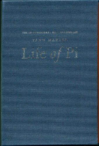 LIFE OF PI - WINNER OF THE: MARTEL Yann