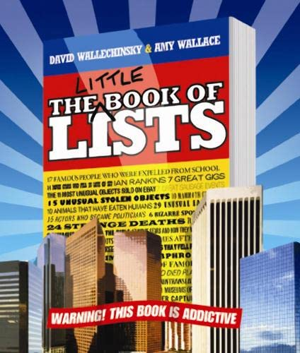 9781841958538: The Little Book of Lists
