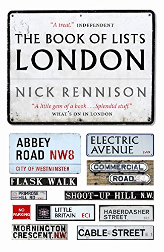 The Book of Lists: London: Rennison, Nick