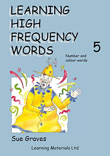 9781841981574: Learning High Frequency Words: Number and Colour Words Bk. 5