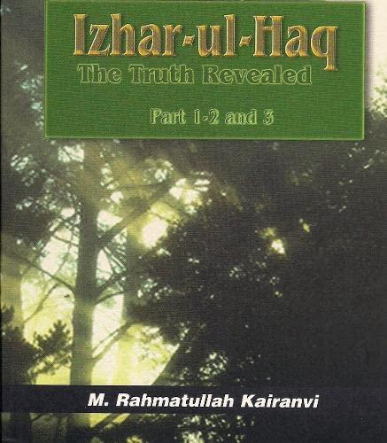 9781842000465: Izhar-ul-haq (The Truth Revealed Part 1-2-3)