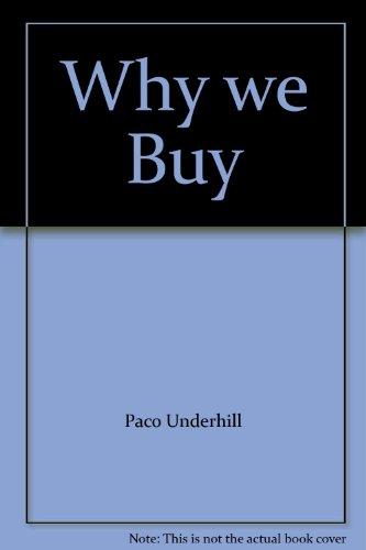 9781842030226: Why we Buy