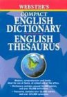 9781842052556: Webster's English Dictionary and English Thesaurus