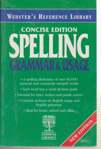 9781842052716: Webster's Spelling, Grammar and Usage