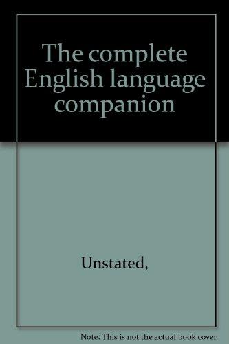 9781842053324: Complete English Language Companion