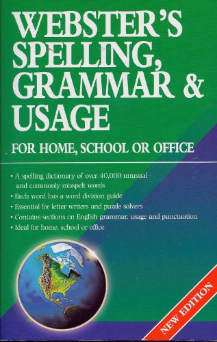 9781842053683: Webster's Spelling, Grammar and Usage