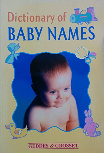9781842055298: Dictionary of Baby Names