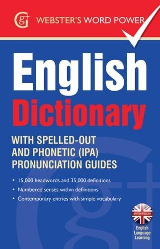 9781842057629: Webster's Word Power English Dictionary: With Easy-to-Follow Pronunciation Guide and IPA