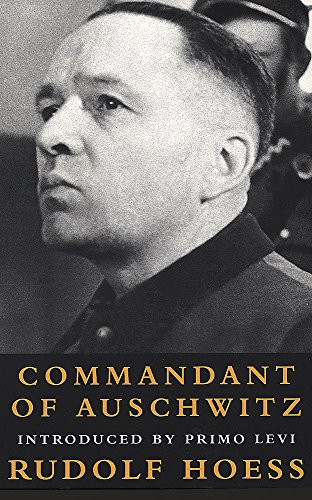 9781842120248: Commandant of Auschwitz: The Autobiography of Rudolf Hoess