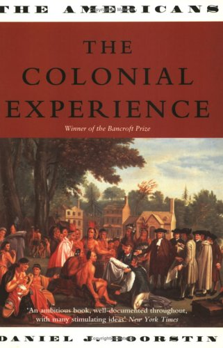 9781842120736: The Colonial Experience (The Americans, Vol. 1)