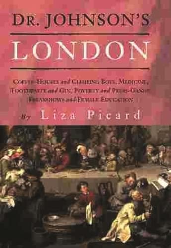 9781842124376: Dr. Johnson's London: Everyday Life in London in the Mid 18th Century