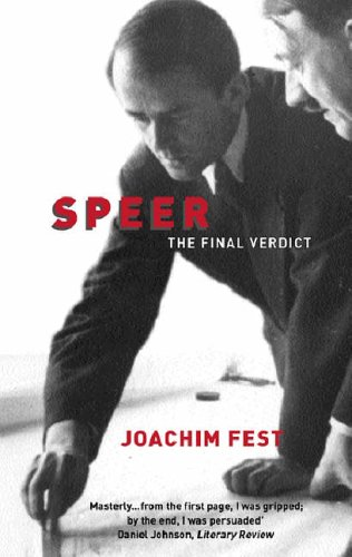 9781842124758: SPEER:A BIOGRAPHY: The Final Verdict