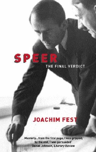9781842124758: Speer: The Final Verdict