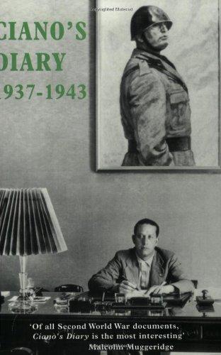 9781842124765: Ciano's Diary: 1937-1943