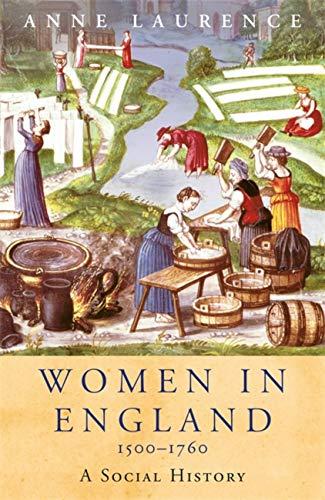 9781842126226: Women In England 1500-1760 (Women in History)