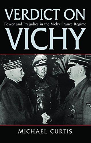 9781842126691: Verdict on Vichy