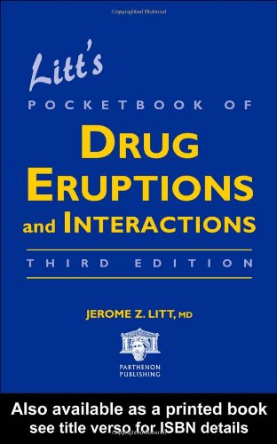 9781842142493: Litt's Pocketbook of Drug Eruptions and Interactions, Third Edition