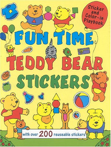 9781842150597: Funtime Teddy Bear Stickers: With Over 200 Reusable Stickers (Super Stickers)