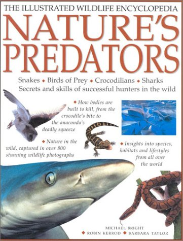 9781842155226: Nature's Predators: Snakes, Birds of Prey, Crocodilians, Sharks--Secrets and Skills of Successful Hunters in the Wild (Illustrated Wildlife Encyclopedia)