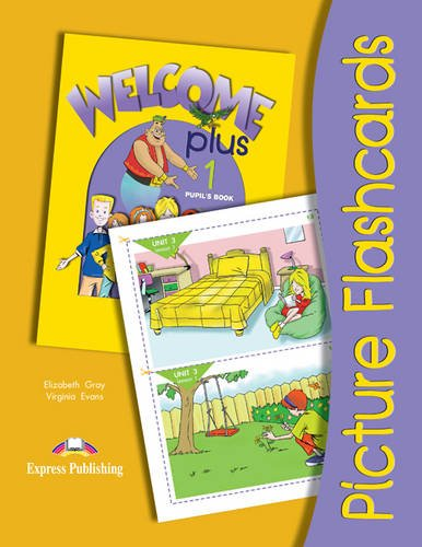 9781842165041: Welcome Plus: Level 1: Picture Flashcards