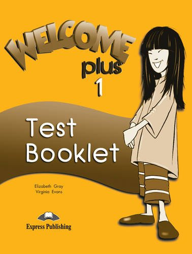 9781842165133: Welcome Plus: Test Booklet Level 1