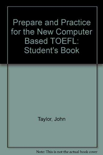 9781842167663: Prepare and Practice for the New Computer Based TOEFL: Student's Book