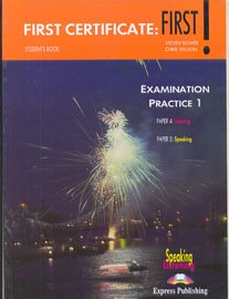 9781842169940: First Certificate: Student's Book Level 1: First Examination Practice