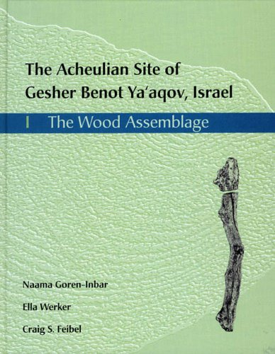 Acheulian Site of Gesher Benot Ya'aqov, Israel: The Wood Assemblage.: GOREN-INBAR, Naama, ...