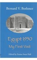 9781842171318: Egypt 1950: My first visit